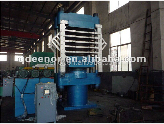 4 layers hydraulic eva foam press machine/eva sheet foaming press