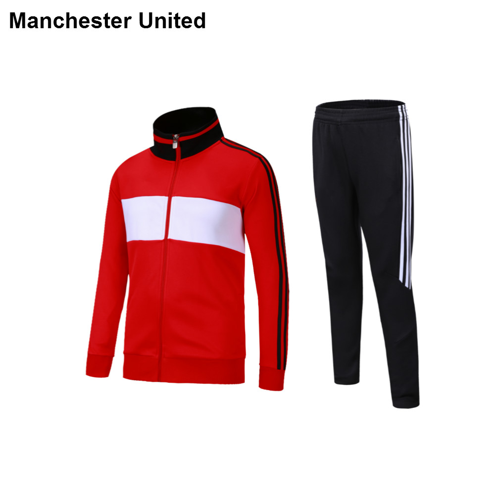 a37aa0bf35427 Fábrica directamente vender fútbol entrenamiento chaqueta manchestersoccer  club chándal