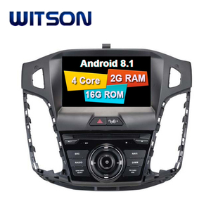 WITSON ANDROID 8.1 FOR FORD FOCUS 2012 2013 2014 CAR AUDIO DVD GPS SYSTEMS
