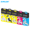 SMILOR factory directly wholesale noise canceling 3.5 mm plugs wired earphones for mobile phone