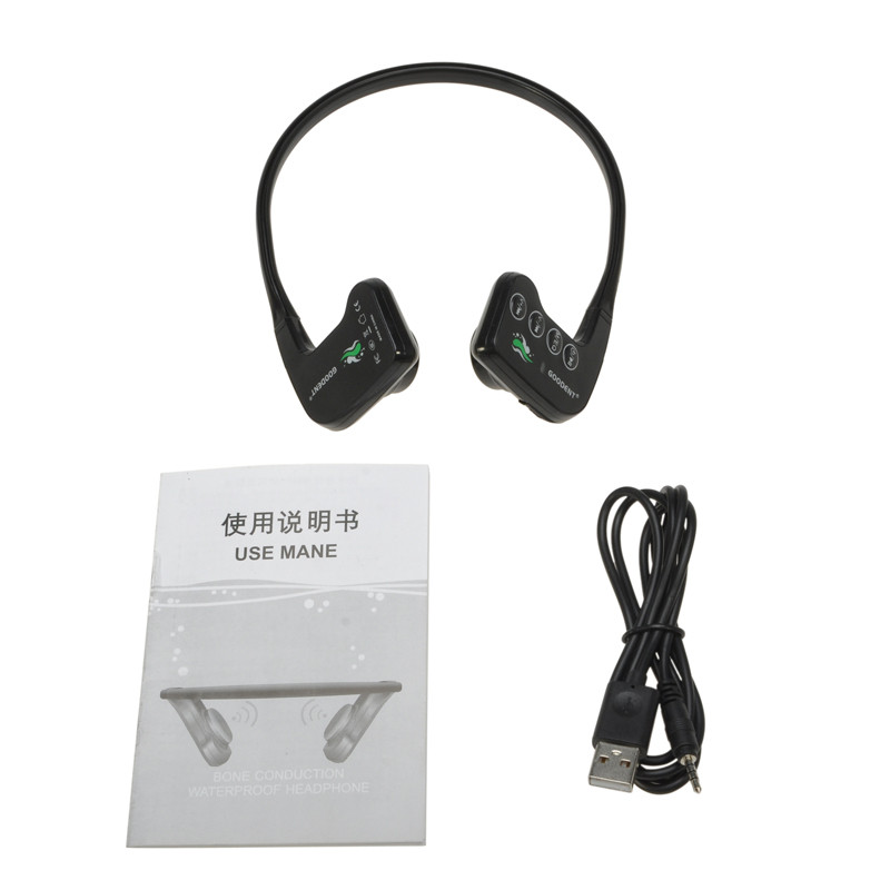 2017 New Arrival And High Quality bone conduction headset MP3 music player 8GB Memory Bone Conduction Earphone/Headset BH-905