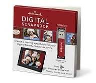 Hallmark Scrapbooks XLJ6312 Holiday Digital Scrapbook USB Drive