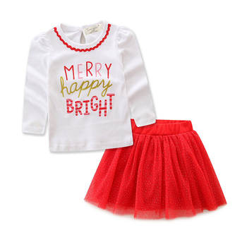 Toddler Christmas Outfit Girl.Girl Clothes Long Sleeve Girls Vestidos Toddler Christmas Outfits Baby Girl Clothes Winter Kids Clothes Flower T Shirt Skirt Buy Dress Kids