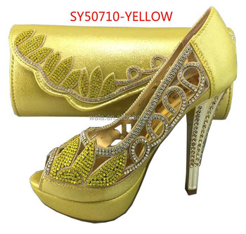 3bcf448881d yellow shoes asos u0027stand outu0027 low heeled pink velvet pumps jiwracj.  Nigeria party wedding bridal thin high heel wedding shoes SY50710-5 yellow …