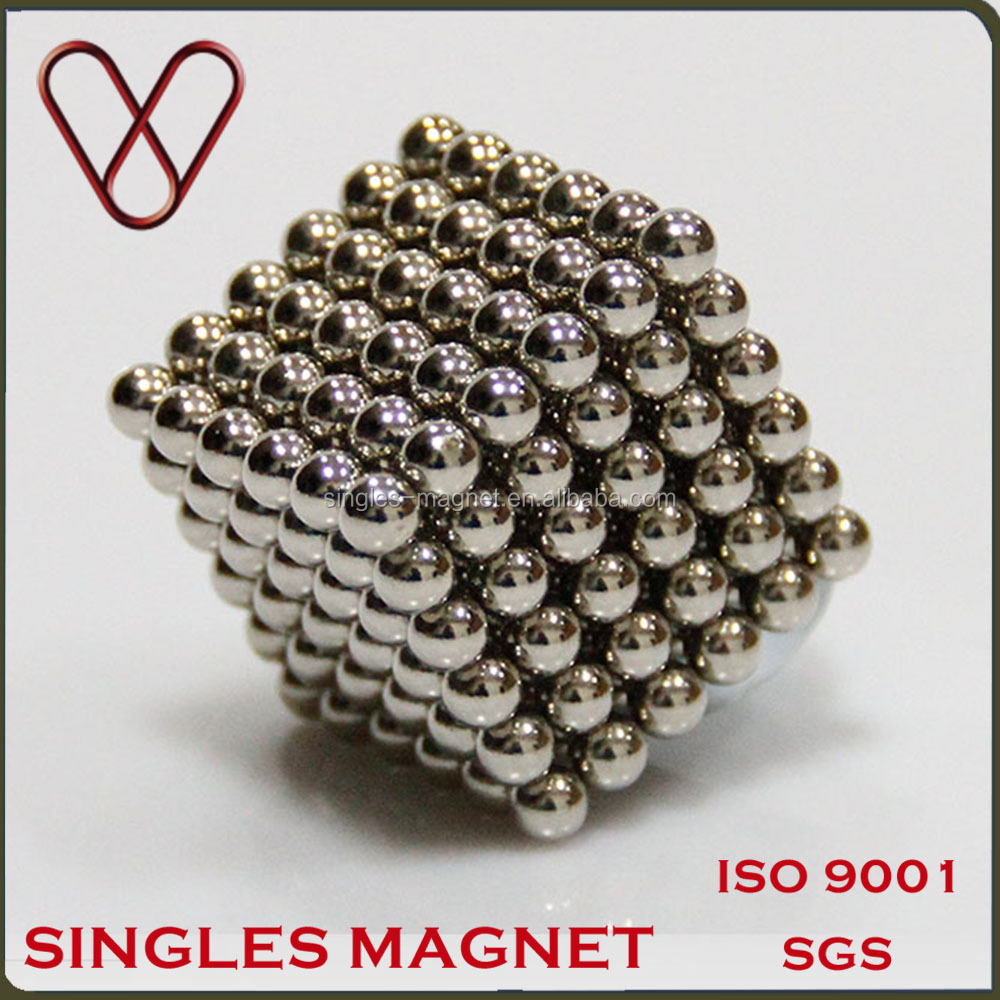 small ball shaped sphere neodymium magnet for toy