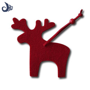 Large supply funny christmas crafts small felt hanging Xmas decoration