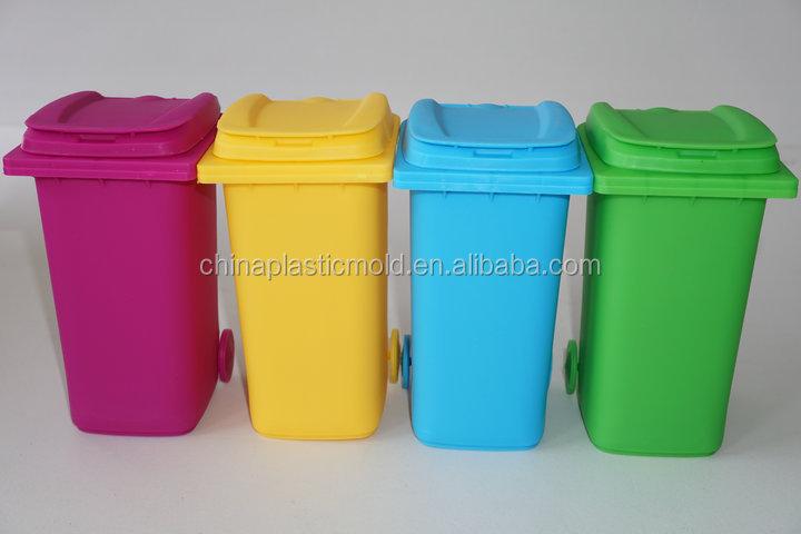 Plastic Smart Desk Tidy Pp Trash Bin On Deskmini Plastic Trash Can