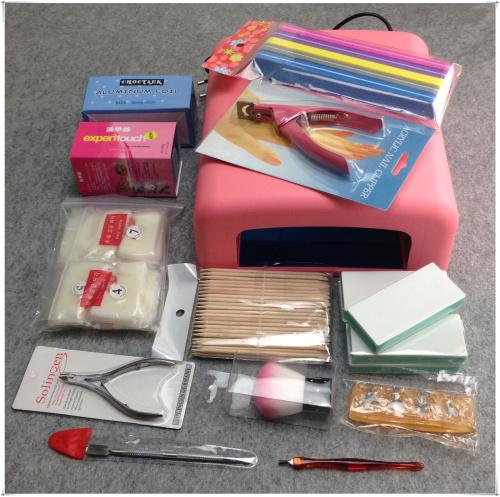 23Pcs/Set UV Gel Tools Kit, Nail Art DIY Basic Manicure