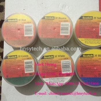 Excellent Color Coding 3m Tape 35# Pvc Electrical Insulating Tape / Vinyl  Electrical Tape - Buy 3m Tape,Super 35# Vinyl Electrical Tape,33kv