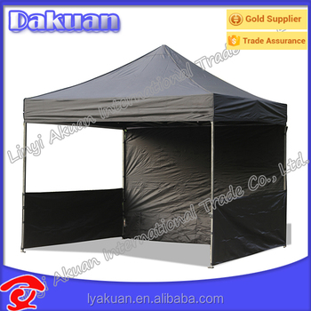 New Style Pop Up Awnings And Canopies With Sides For Advertising