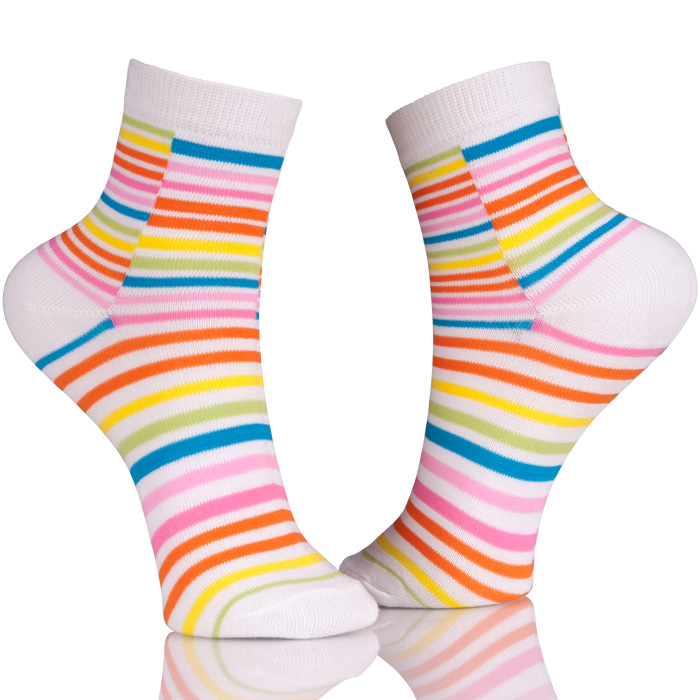 Cute  Colorful Cotton Socks For Women