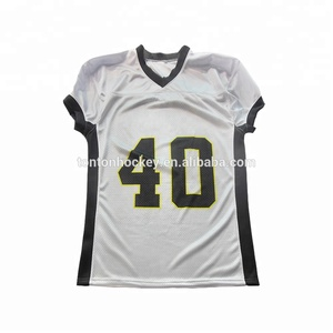 low priced b104d c95d3 Custom blank men plain mesh american football jersey