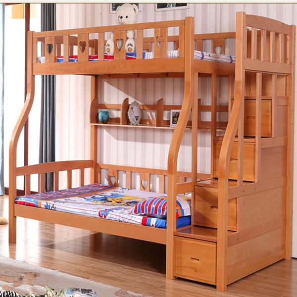 Lit superpos enfant lit superpos en bois massif moderne - Lit en bois moderne pour adulte ...