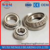 Tapered roller bearing size chart with high quality