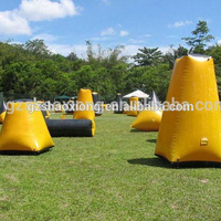 Cheap Top Quality Factory Prices Inflatable Paintball Bunker X Shape Bunker