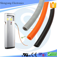 2017 Flexible Charging Pile Corrugated Plastic Tubing With Auto Connector
