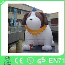 2015 new product advertisement inflatable dog for promotion