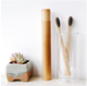 Free Sample BPA Free Eco-Friendly Soft Nylon Bristle Organic Natural Travel Bamboo Toothbrush With Customized Logo