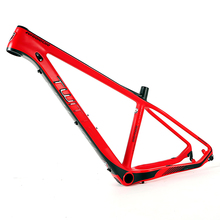 low price Cool Matte carbon mountain bike 27.5inch carbon mtb frame 27.5 650b with size 15.5inch 16.5inch 17.5 inch
