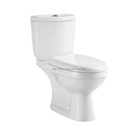 Ceramic toilet design two piece bathroom commode