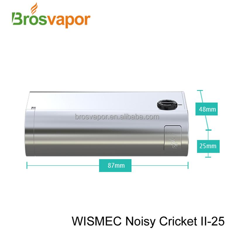 Wismec Noisy Cricket Ii-25 Dual 18650 Mod Dna 200 Chip From ...