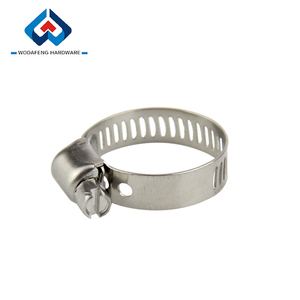 High Quality concrete pump types of rubber hose clamp