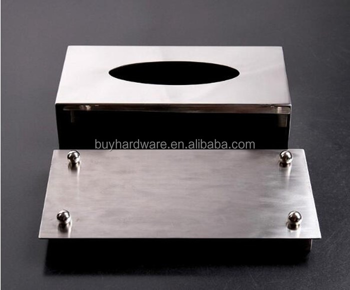 Stainless Steel Tissue Box/ Metal Box /Home and Hotel Decoration