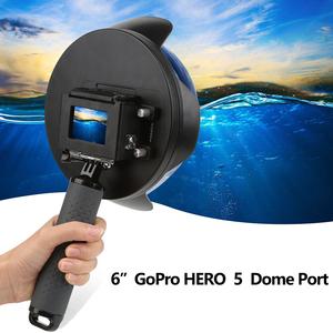 Waterproof Underwater Photography Dome Port for Gopro Hero 6