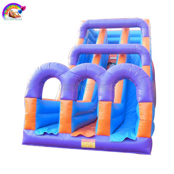 Hot Sale Inflatable Dry Slide