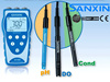 SANXIN SX825 Portable Handheld pH / mV / Dissolved Oxygen / DO Meter (Temperature, IP57, 1~3 point calibration, CE, ISO)