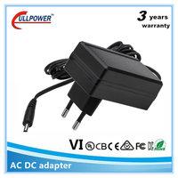 PSB Safety Mark for SG EU plug 24V1A 12v 2a power adapter