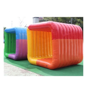 Hot sale inflatable Human Flip It sports game/Inflatable Team Building Games/Corporate Games