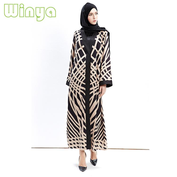 f897d0cd931 Nouveau Musulman Robes Femmes Arabe du Moyen-Orient Turquie Dubaï Abaya  Femmes Robe En Gros