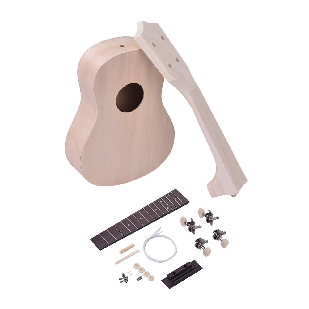 Security & Protection Muslady Unfinished Diy Electric Guitar Kit Basswood Body Maple Guitar Neck Rosewood Fingerboard More Discounts Surprises