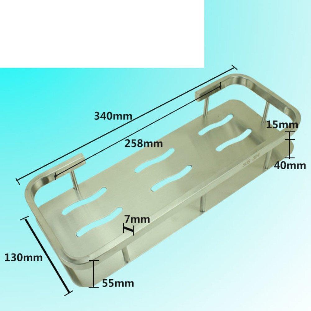 Stainless steel triangular basket/Double-pod/Racks/Bathroom corner rack/Bathroom corner brackets/Racks-B