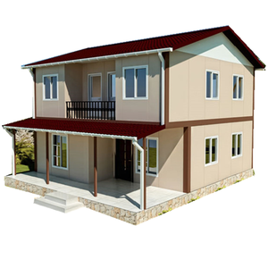 Custom Design Steel Frame Modular Prefab House Low cost Home Kits