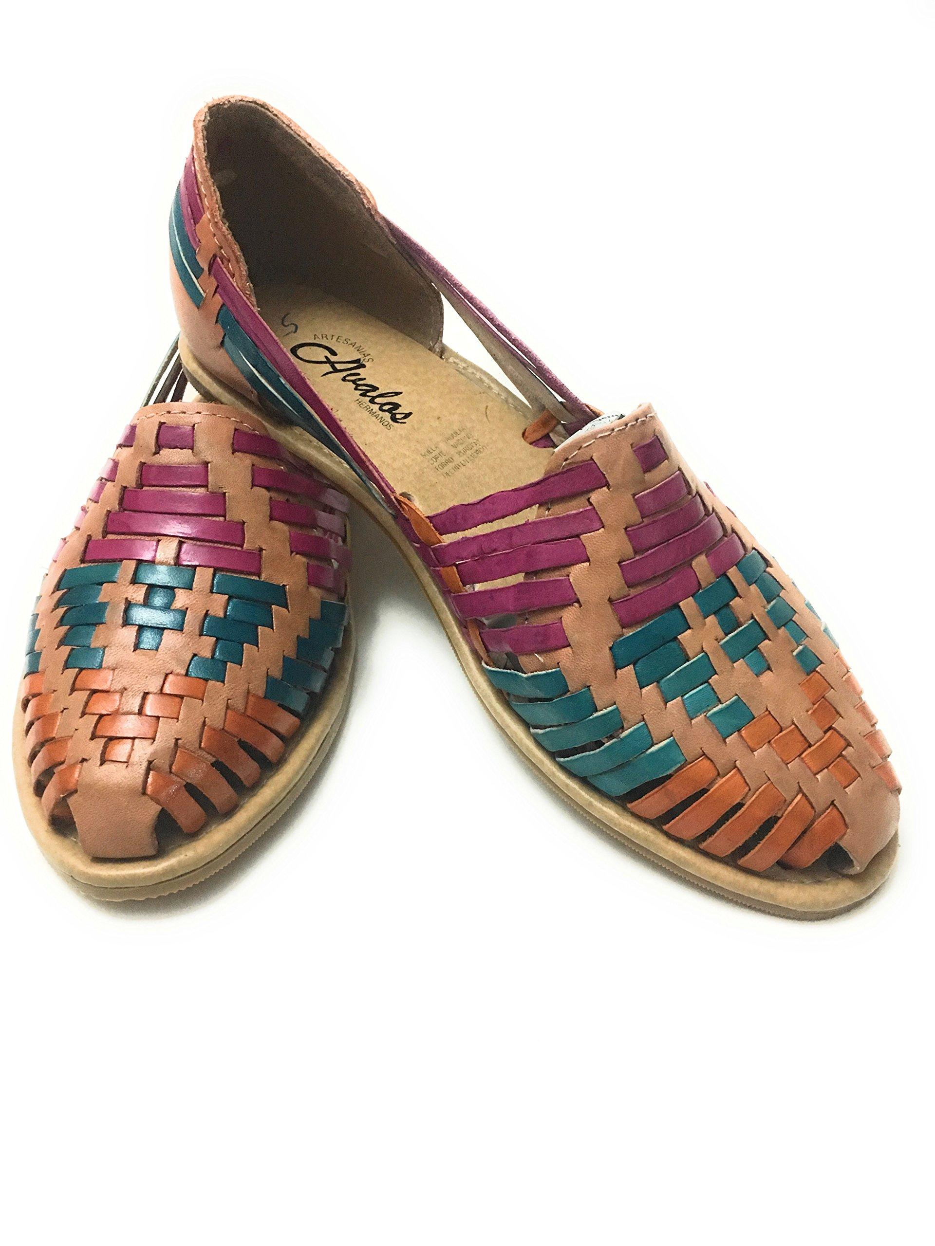 6a7d7ce8d830d6 WOMENS LEATHER SANDALS. HUARACHE SANDALS. MEXICAN SANDALS