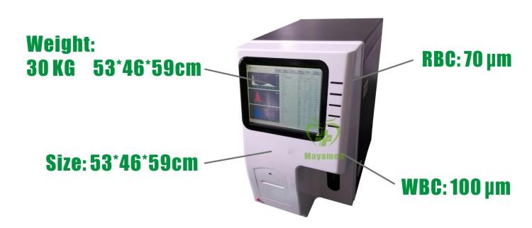 Factory Price sale auto Hematology Analyzer In-Vitro Diagnostic Equipment Test Machine,fully automated Hematology Analyzer