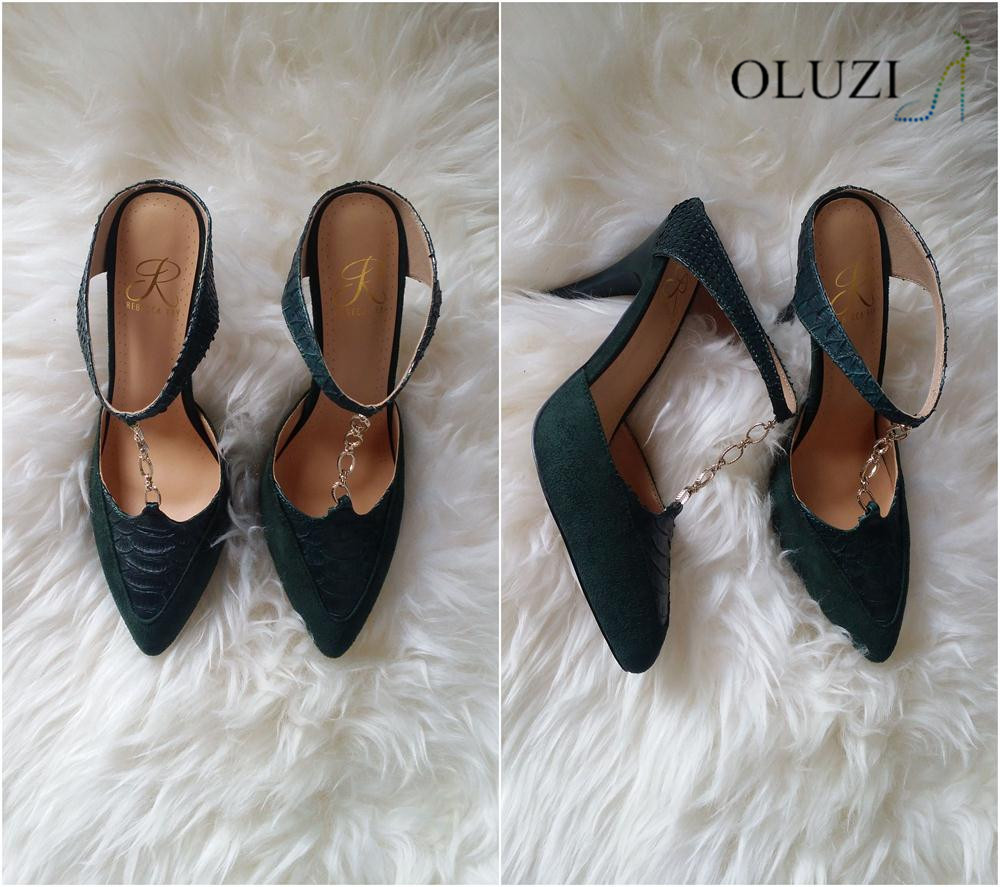 OLZ2 2017 Italian Matching Shoes And Bags Shoes For Women