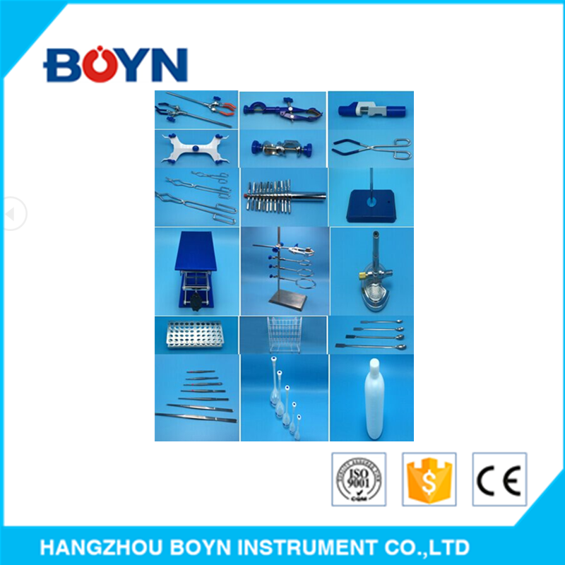 Laboratory teaching equipment ,clamp,clip, rack,Bosshead,Bunsen burner,stand base