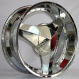 High quality 22 inch car wheels,3 spoke chrome alloy wheels (ZW-S111)
