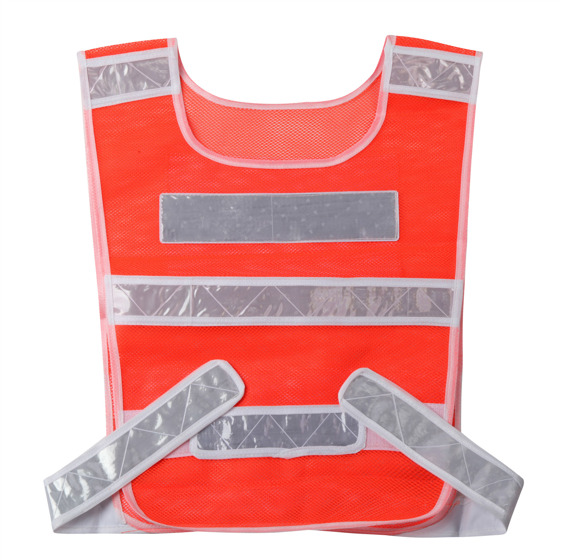 Red <strong>Safety</strong> Reflective Running Vest Reflection Vest Road Warning Clothing Jack Vest For Ssfety