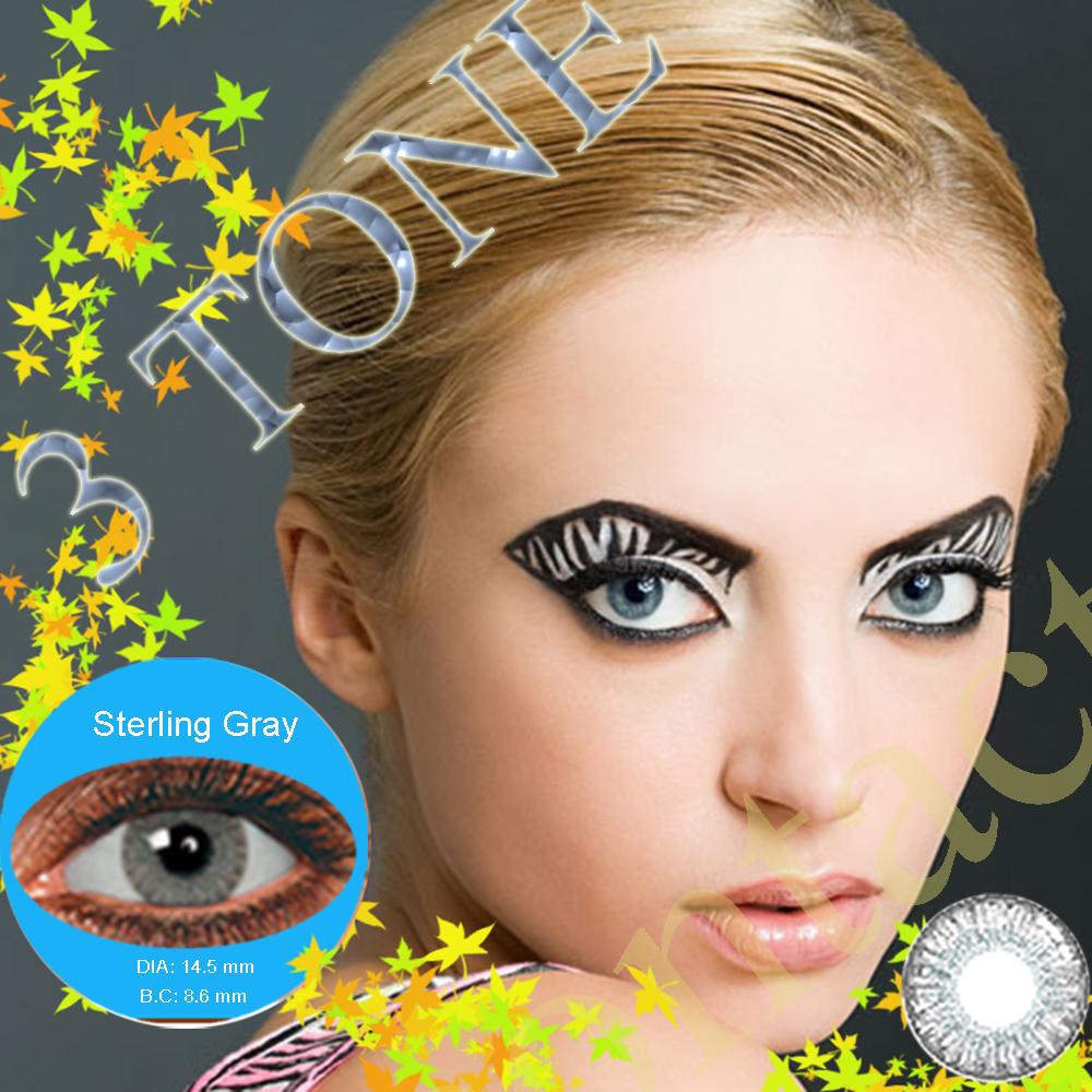5861f2127fdbbb Goedkope kleur contactlenzen top kwaliteit hollywood kleur contact lens 12  kleuren cosmetische contactlenzen  1 kleur contacten