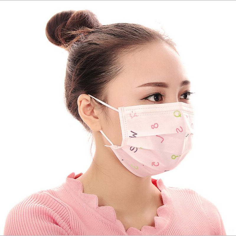 10pcs Mask Layers 3 Mascarilla Virus Antipolvo Anti-dust Disposable Face Non-woven Thick Mouth-muffle Anti Mouth Flu Masks