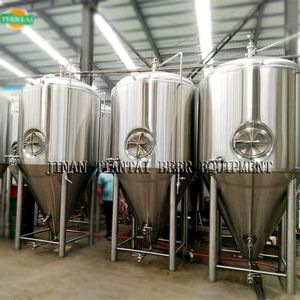jacket cooling isobaric beer fermentation tanks used for microbrewing equipment