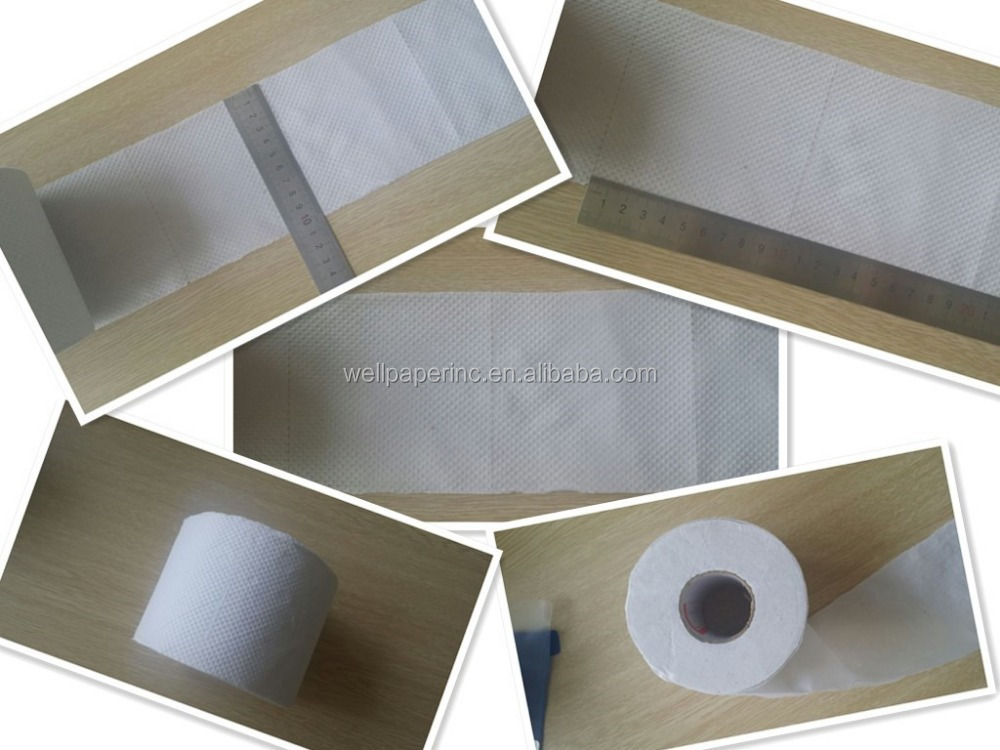 Professional 100% Recycled Fiber Bulk Toilet Paper for Business , 2-PLY Standard Rolls, White, 40roll/polybag,500Sheets / Roll