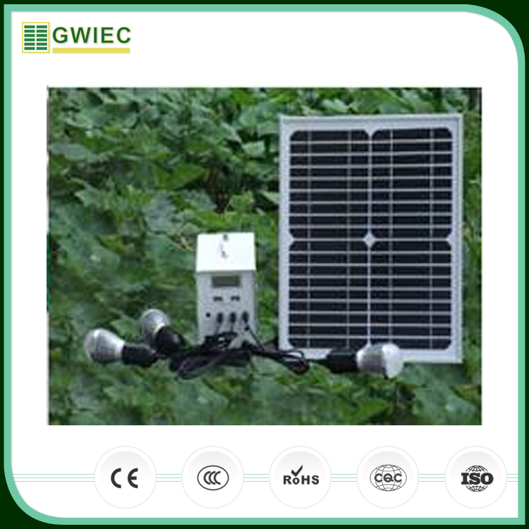 GWIEC New China Products For Sale Mini Solar Power System Home Using With Lead-acid Batteries