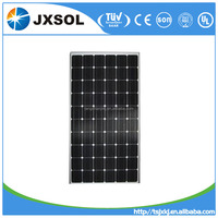 Cheapest price 270W monocrystalline solar panel/panel solar from China mnaufacturer