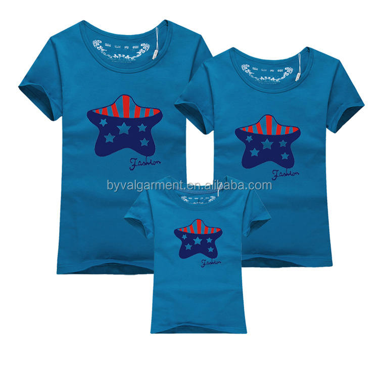 China Wholesale Family T Shirt Design,Parent-child Clothing,Short ...