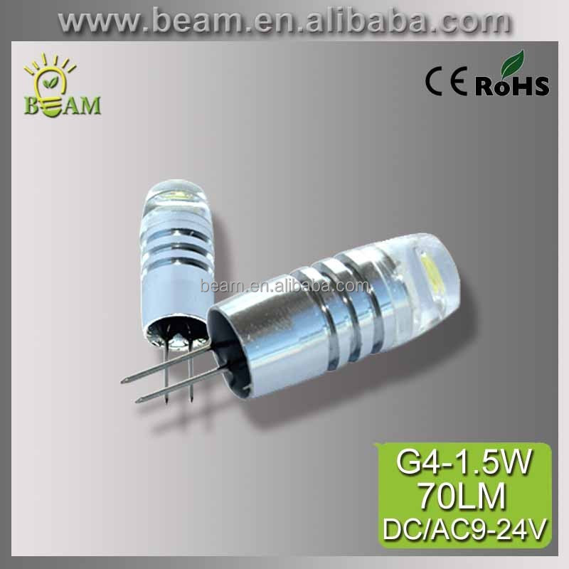 Super brightness 1.5W cold white 6500k 12VDC 24v ac led lamp